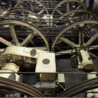The cable car museum: the cables drives