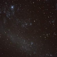 The large magellanic cloud. On top is S Dor