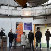 Visit of the Schmidt telescope