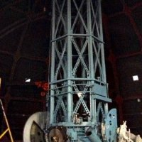 The 60 inches telescope, with which Hubble discovered the expansion of the (...)