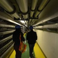Inside the beast (the Paranal tunnels)