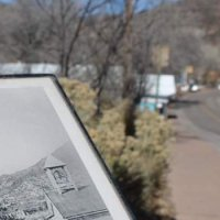 Jemez springs: a freezed little town
