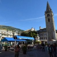 Town center of Barcelonnette