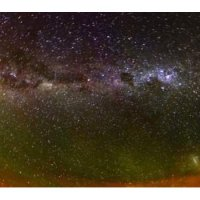 Milky way & airglow